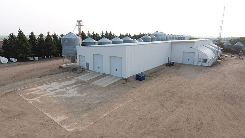 Trawin Seeds Grain Storage & Packaging Warehouse