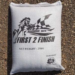 Bag of First 2 Finish Racehorse Oats