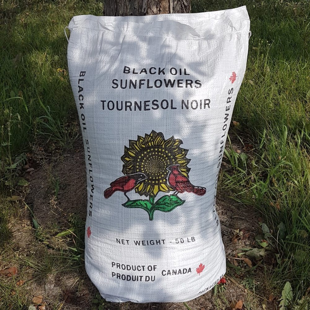 50 lb bag of Black Oil Sunflower Seeds