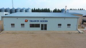 The main office at Trawin Seeds